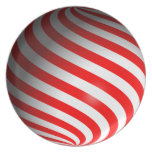Candy Cane Dinner Plates
