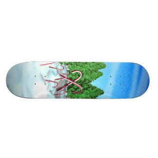 Candy Cane Forest Skate Decks