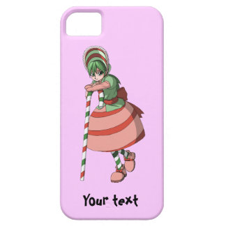 Candy Cane girl iPhone SE/5/5s Case