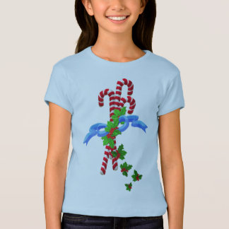 Candy Cane Girl's Fashion Shirt