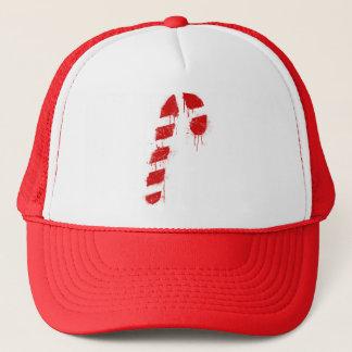 Candy Cane Graffiti Trucker Hat