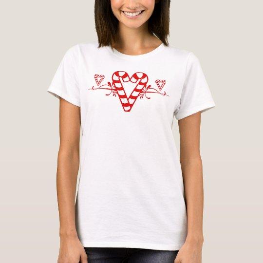 Candy Cane Hearts Shirt
