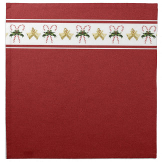 Candy Cane Holiday American MoJo Napkins