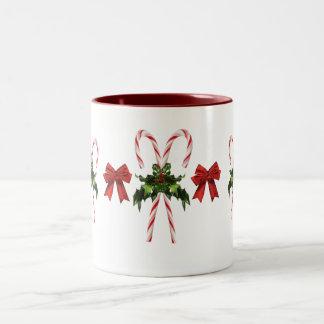 Candy Cane Holiday Mug