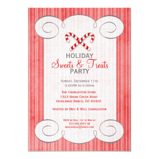 Christmas Dessert Party Invitations Announcements Zazzle