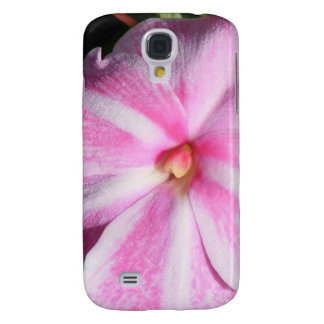 Candy Cane Impatiens Galaxy S4 Cover