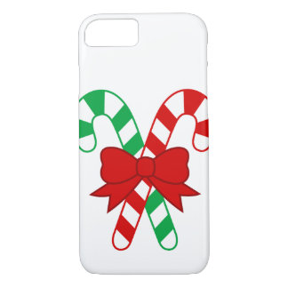 Candy Cane iPhone 7, Barely There Case