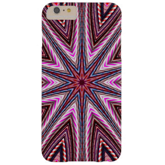 Candy Cane Kaleidoscope Barely There iPhone 6 Plus Case
