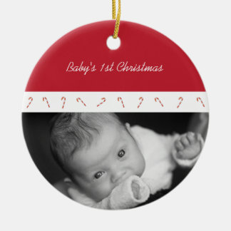 Candy Cane Lane Ornament (red)