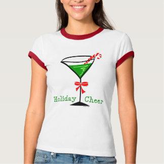 Candy Cane Martini T-Shirt