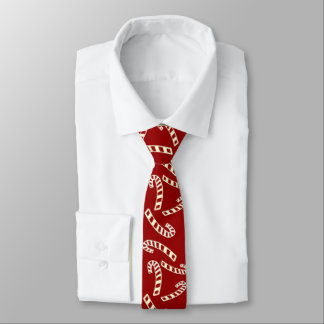 Candy Cane Men's Tie