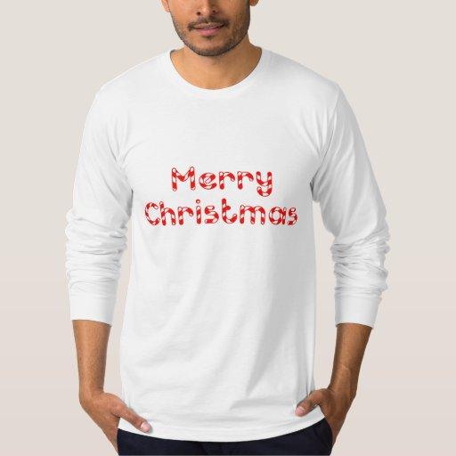 Candy Cane Merry Christmas Shirt