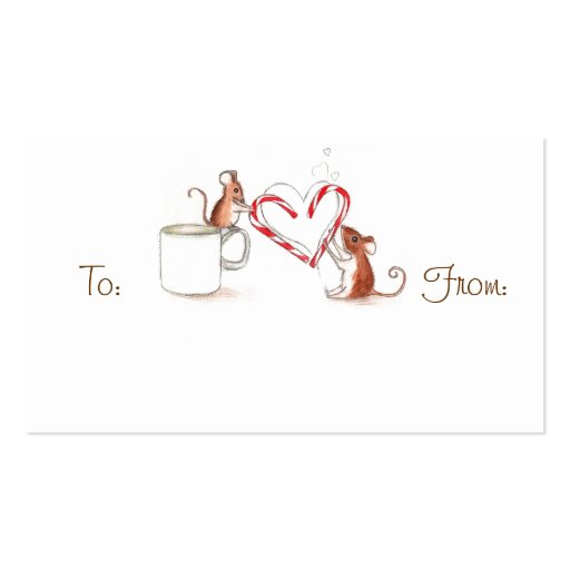 Candy Cane Mice Template Candy Cane Tags Template