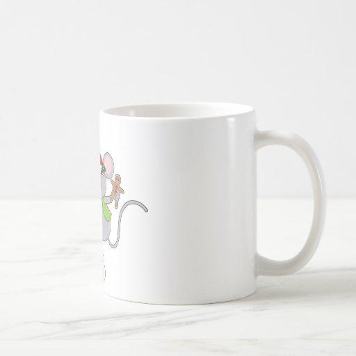 Candy Cane Mouse Mugs