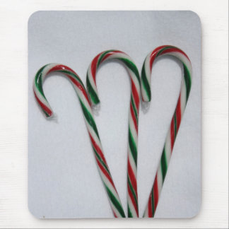 Candy Cane Mouse Pad