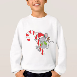 Candy Cane Mouse Sweatshirt