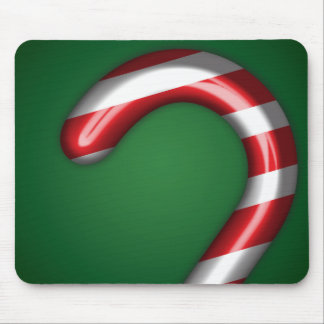Candy Cane Mousepad in Green