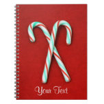 Candy Cane Notebook