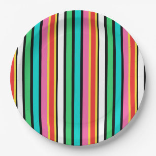 Candy Cane Paper Plate  sc 1 st  Zazzle & Candy Cane Plates | Zazzle