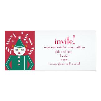Candy Cane Party Invitation © 2011 M. Martz