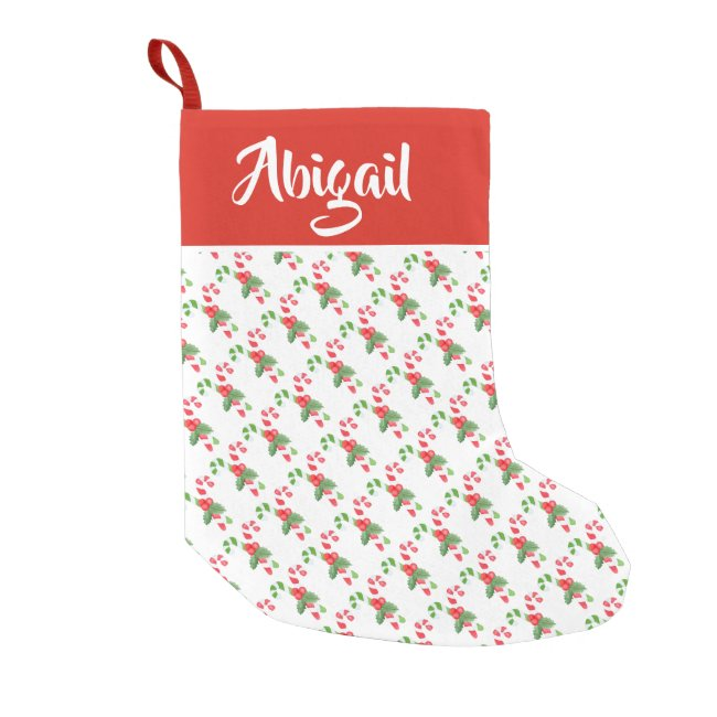 Candy Cane Pattern - Personalized