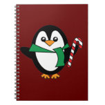 Candy Cane Penguin Journals