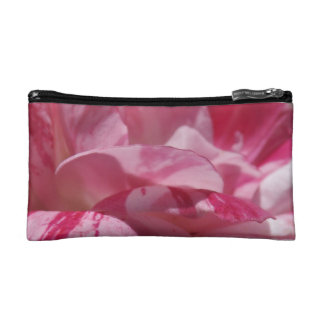 Candy Cane Petals Cosmetic Bag