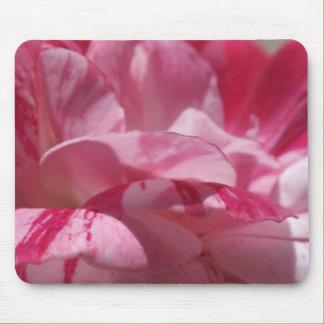 Candy Cane Petals Mousepad