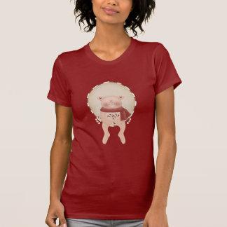 Candy Cane Pig T-Shirt