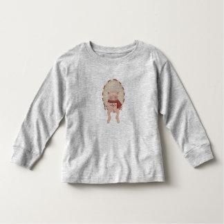 Candy Cane Pig Toddler T-shirt