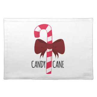 Candy Cane Cloth Placemat