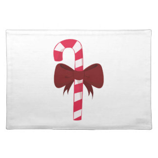 Candy Cane Cloth Place Mat
