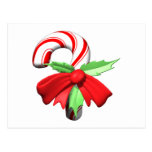 Candy Cane Post Card