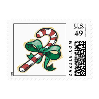 Candy Cane Postage