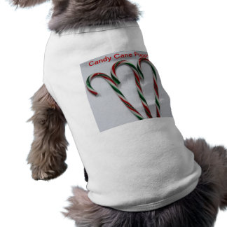Candy Cane Puppy Shirt