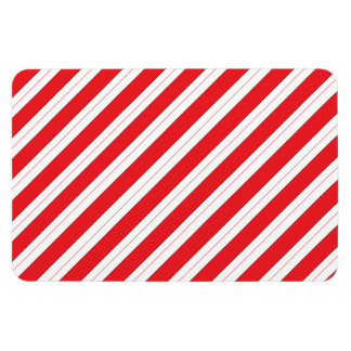 Candy Cane Red Stripes Magnet