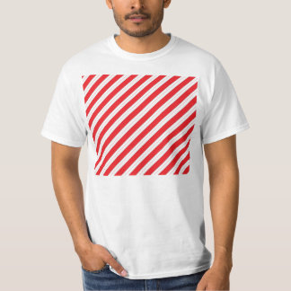 Candy Cane Red Stripes T-Shirt