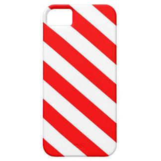"""""""Candy Cane"""" Red & White Stripes iPhone 5 iPhone SE/5/5s Case"""