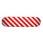 Candy Cane Skate Board Deck