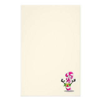 Candy Cane Smile Stationery