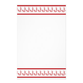 Candy Cane Stationery