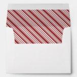 Candy Cane Stripe Envelope