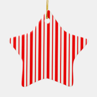 """Candy Cane Stripe"" Holiday Ornament"