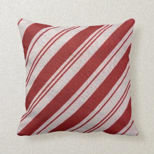 Candy Cane Decorative Throw Pillows Zazzle