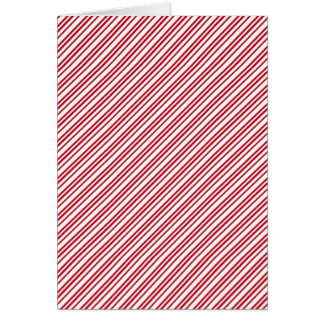 Candy Cane Stripes Card