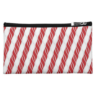 Candy Cane Stripes Cosmetic Bag