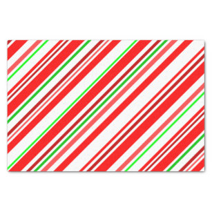 red and white candy cane craft tissue paper zazzle
