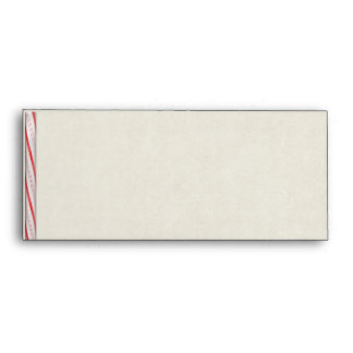 Candy Cane Stripes Envelope