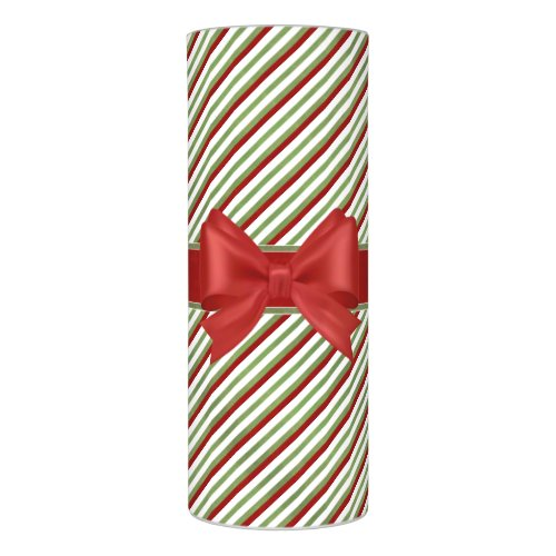 Candy Cane Stripes Flameless Candle