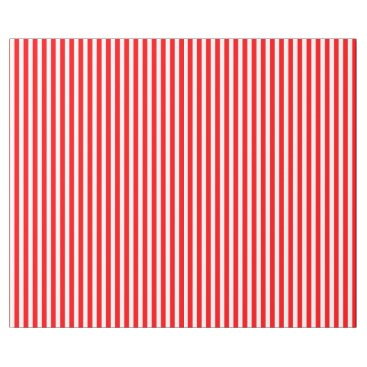 McTiffany Tiffany Aqua Candy Cane Stripes in Christmas Red and Snow White Wrapping Paper